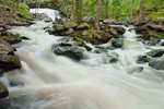 Doane's Falls (Middle Falls) on Lawrence Brook in Spring, Trustees of Reservations, Royalston, MA