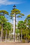Cape San Blas Lighthouse, Cape San Blas, Gulf Coast, Gulf of Mexico, Florida Panhandle,  Gulf City, FL
