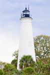 St. Marks Lighthouse, St. Marks National Wildlife Refuge, National Historic Site, Gulf Coast, Florida Panhandle, Gulf of Mexico, Wakulla County, FL