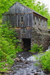 Old Sawmill on Turkey Hill Brook, Moore State Park, Paxton, MA