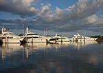 Early Morning Light on Yachts in Sag Harbor, Long Island, Village of Sag Harbor, East Hampton, NY
