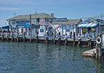 Claudio's Clam Bar Restaurant and Marina on Greenport Waterfront, Long Island, Village of Greenport, Southold, NY