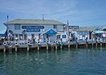 Claudio's Clam Bar Restaurant and Marina on Greenport Waterfront, Long Island, Village of Greenport, Southold, NY