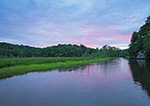 Sunset on Seldon Creek, Seldon Neck State Park (off Connecticut River), Lyme, CT