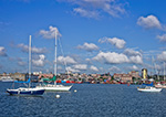 New Bedford Harbor on a Summer Day, New Bedford, MA