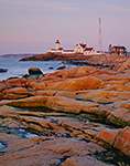 Eastern Point Light and Granite Shoreline, Cape Ann, Gloucester, MA Original: 4x5 inch color transparency