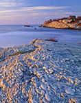 Atlantic Coastline near Second Beach, Middletown, RI Original: 4x5 inch color transparency