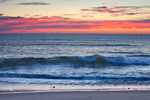 Predawn and Surf at Coast Guard Beach, Cape National Seashore. Cape Cod, Eastham, MA