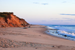 Early Morning Light on Cliffs, Beach and Surf at Coast Guard Beach, Cape Cod National Seashore, Cape Cod, Eastham, MA