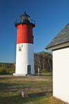 Early Morning Sunlight on Nauset Light, Cape Cod National Seashore, Cape Cod, Eastham, MA