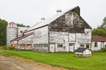 Old White Barn, Kennebec County, Belgrade Lakes Region, Mt. Vernon, ME
