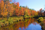 Autumn Colors along Tully River, Royalston, MA