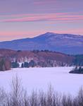 Mt. Monadnock and Mountain Reservoir in Winter,  Jaffrey, NH