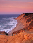 Mohegan Bluffs at Sunrise, Block Island, Rhode Island