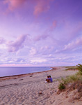 Evening Clouds at Charleston Beach, Block Island, RI