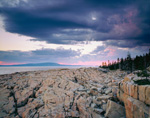 Storm Clouds at Schoodic Point, Acadia National Park, Winter Harbor, ME