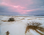 Sunrise and Stormy Sky at Coast Guard Beach, Cape Cod National Seashore, Cape Cod, Eastham. MA