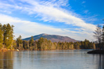 View of Mount Monadnock and Scott Pond, Fitzwilliam, NH