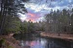 Sunrise on Millers River, Bearsden Conservation Area, Athol, MA
