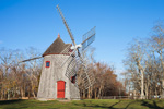 Eastham Windmill (Built 1680, Oldest on Cape Cod), Windmill Green, Cape Cod, Eastham, MA