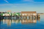 Captain Jack's Wharf, Provincetown Harbor, Cape Cod, Provincetown, MA