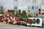 Holiday Display at Tobey Farm Christmas Barn, Cape Cod, Dennis, MA