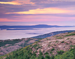 Sunrise View from Cadillac Mountain, Acadia National Park, Bar Harbor, ME