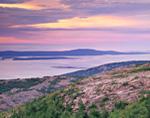 Sunrise View from Cadillac Mountain, Acadia National Park, Bar Harbor, ME