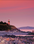 Sunset at West Quoddy Head Light, Quoddy Head State Park, Lubec, ME
