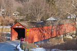 West Cornwall Covered Bridge over Housatonic River, West Cornwall, CT