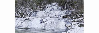 Kent Falls in Winter, Kent Falls State Park, Kent, CT