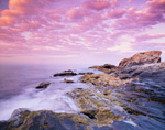 Early Morning along Rocky Coast and Tidal Zone at Pemaquid Point, Bristol, ME