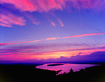 Sunset over Mooselookmeguntic Lake, Rangeley Lakes Region, Rangeley, ME
