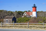 Nauset Light with Outbuildings, Cape Cod National Seashore, Cape Cod, Eastham, MA