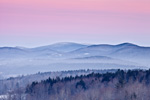 Early Morning Light, Green Mountains, Green Mountain National Forest, View from Wilmington, VT