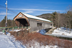 Bartonsville Covered Bridge (1870) over Williams River, Rockiingham, VT