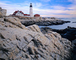Rocky Coastline at Portland Head Light, Fort Williams Park, Cape Elizabeth, ME