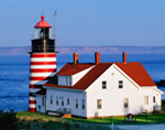 West Quoddy Head Light, Quoddy Head State Park, Lubec, ME