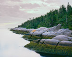 Main Channel Way and Knight Island Shoreline,  Jonesport, ME
