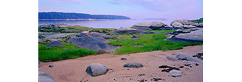 Shoreline of Moose Island, Stonington, ME