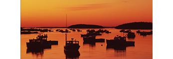 Lobster Boats at Predawn, Deer Isle, Stonington, ME