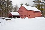 Big Barn after Heavy Snowstorm, Fitzwilliam, NH