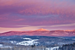 Early Morning Light at Haystack Mountain, Green Mountain National Forest, View from Wilmington, VT