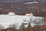 Green Meadows Farm in Winter, Wilmington, VT