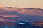 Searsburg Windfarm, Green Mountain National Forest, View from Wilmington, VT