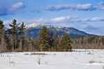 Mt Monadnock and Scott Brook Wetlands in Winter, View from Fitzwilliam, NH