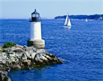 Fort Pickering Light, Winter Island, North Shore, Salem, MA