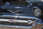 Close-up Detail of Antique 1957 Chevrolet Belair, Silver Springs, FL