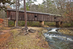 Coheelee Creek Covered Bridge, McDonald's Ford on Choheelee Creek, (Built 1891), near Blakely, Early County , GA