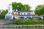 Poplar Point Light, Wickford Harbor, Wickford, North Kingstown, RI